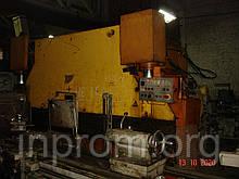 Прес кромкогибочный гідравлічний 100т, мод. ИБ1430А, 1992р, робочий