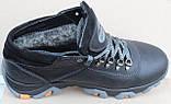Кроссовки зимние мужские кожаные от производителя модель МР10, фото 3