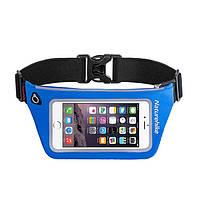 Чехол для телефона на пояс Naturehike Waist bag XL (6.0 inch) NH70B067-Y голубой (NH)