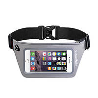 Чехол для телефона на пояс Naturehike Waist bag XL (6.0 inch) NH70B067-Y серый (NH)