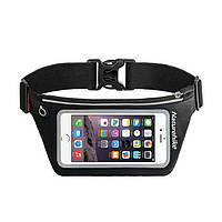 Чехол для телефона на пояс Naturehike Waist bag XL (6.0 inch) NH70B067-Y черный (NH)