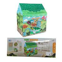 Палатка детская игровая RE333-84  домик динозавров