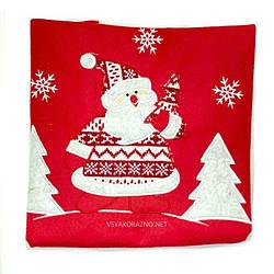 Мешок Деда Мороза 68*48 см / мішок Діда Мороза (красный)