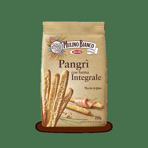 Хлебные палочки Pangri Integrali Mulino Bianco Barilla