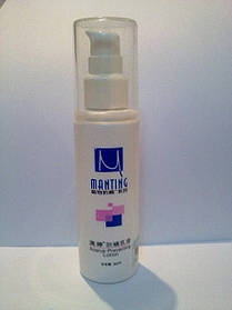 МАНТИНГ лосьон защищает от проникновения клеща-демодекса.
