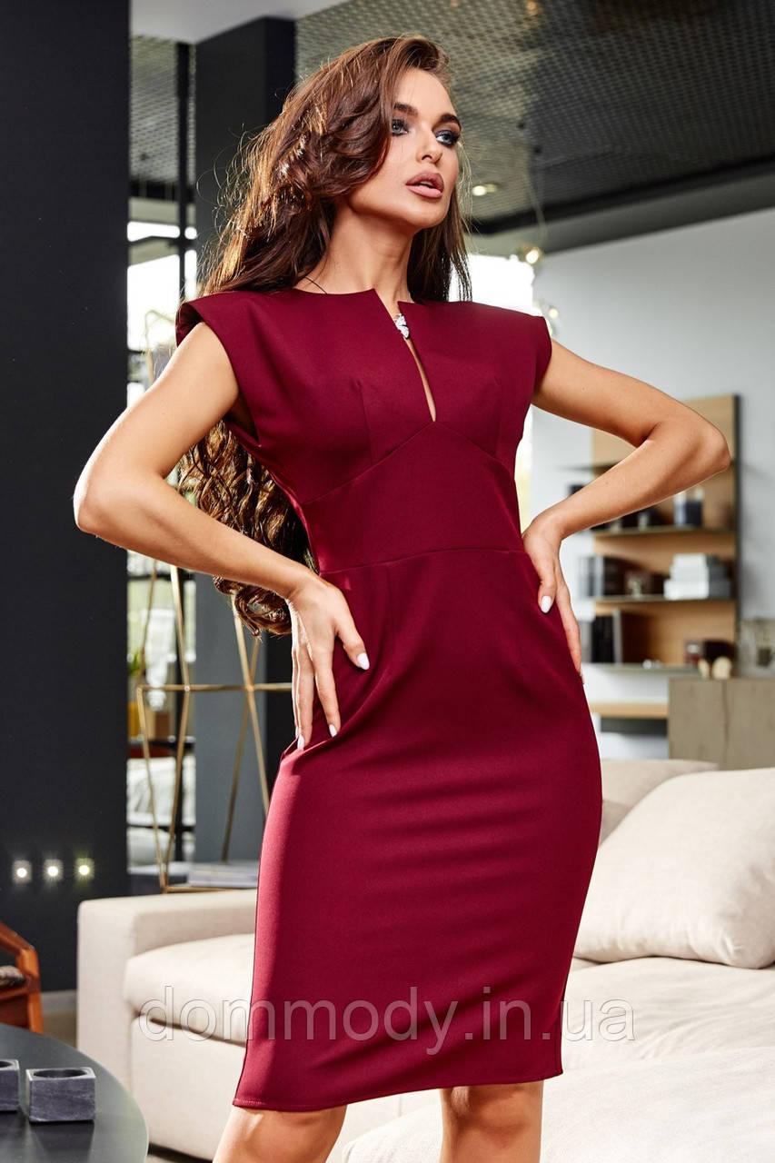 Платье женское Jackie marsala