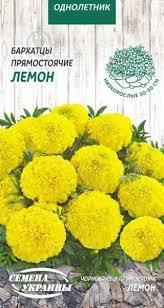 Семена цветы Бархатцы Лемон Фри /0,5г/