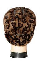 """Женская меховая шапка норковая, """"Стелла Веер"""" (леопард), фото 3"""