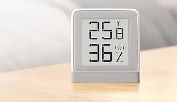 Термометр Xiaomi MiaoMiaoCe, цифровой измеритель влажности с экраном E-Link INK, высокая точность измерения те