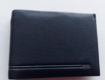 Чоловіче шкіряне портмоне PY 009-103 black, купити чоловіче портмоне Balisa недорого в Україні