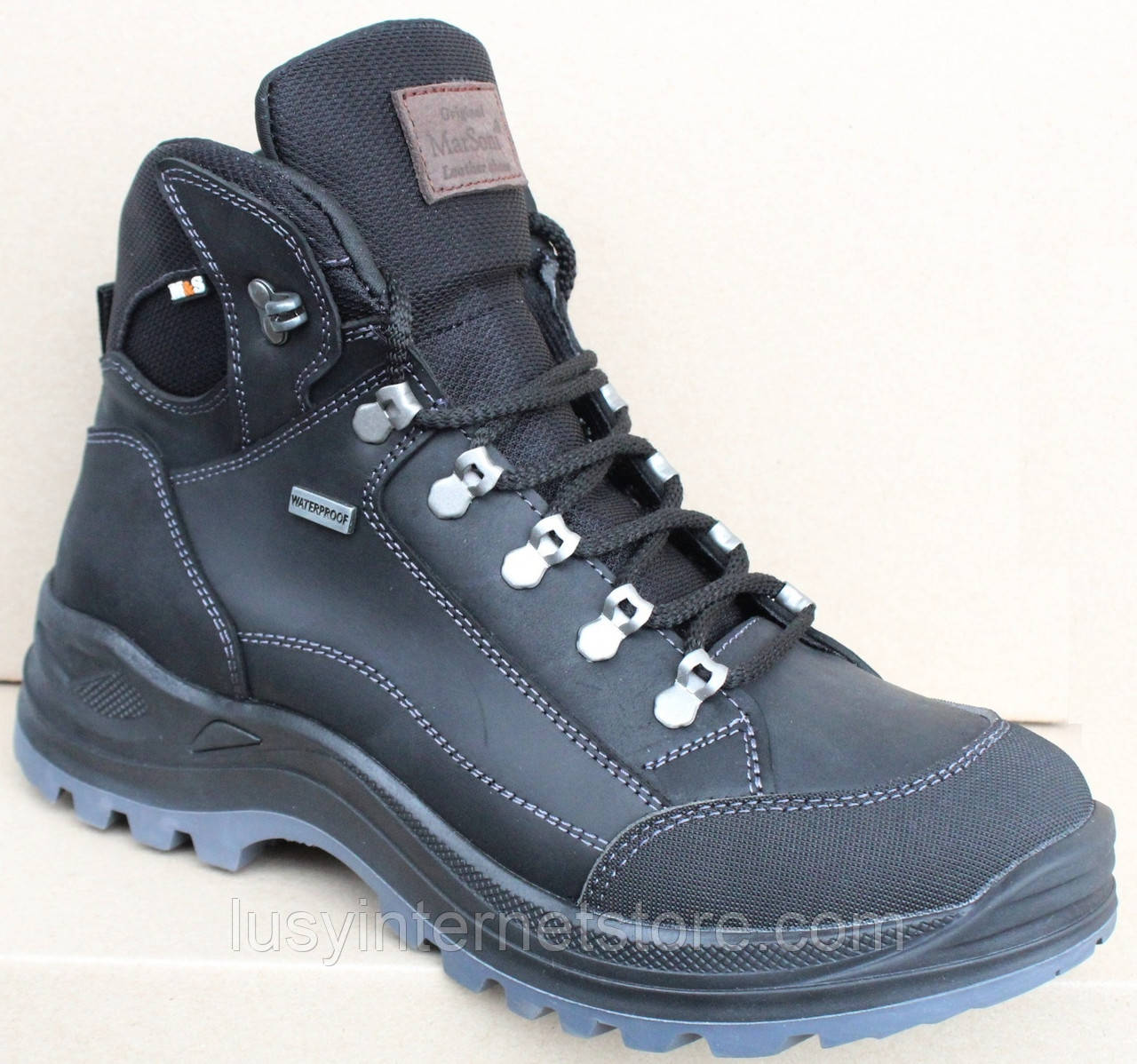 Кроссовки зимние мужские кожаные от производителя модель МР11-2