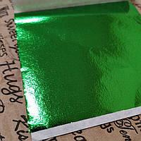 Поталь листовая. Зелёная.