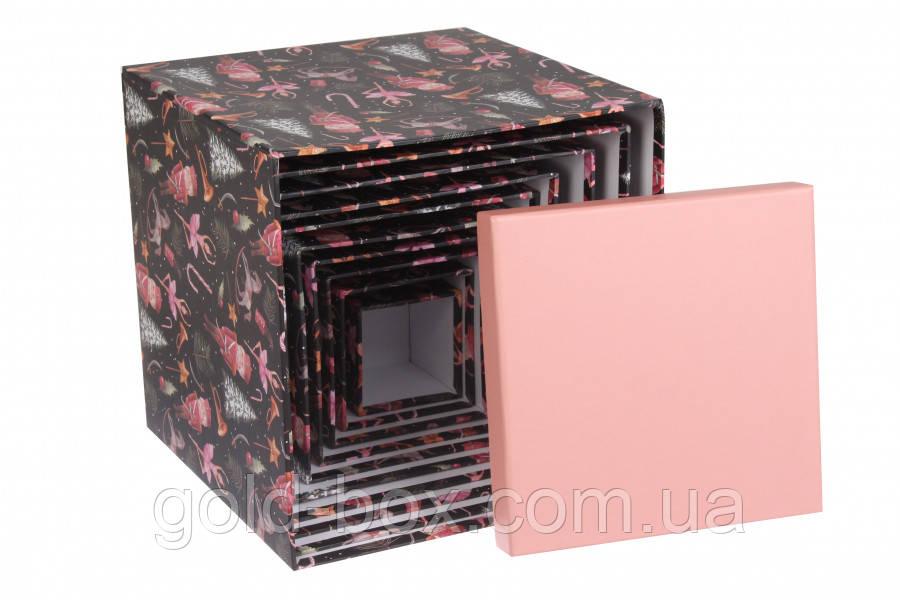 Новогодняя подарочная коробочка 10 в 1