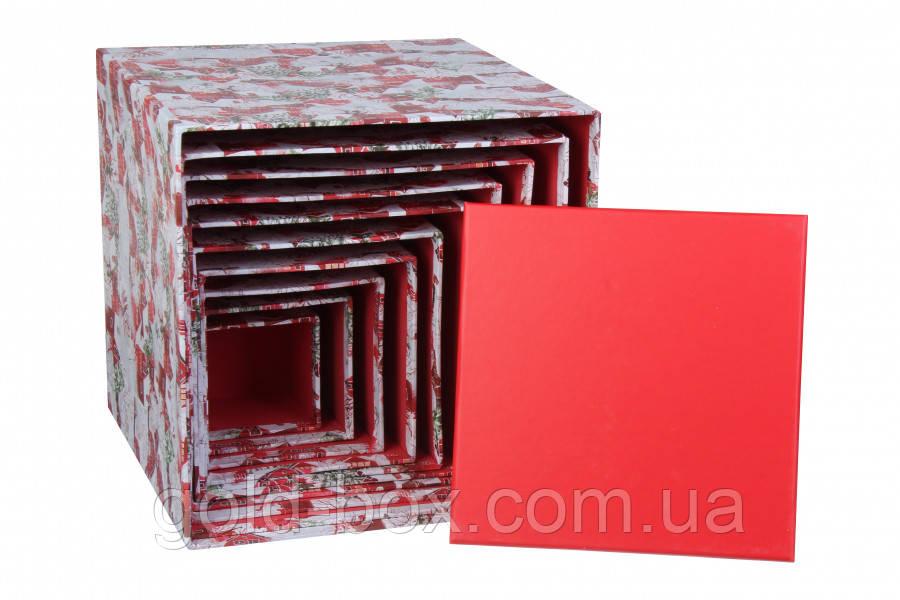 """Новогодняя подарочная коробочка """"Marry Christmas"""" 10 в 1"""