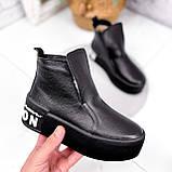 Ботинки женские Alberta черные ЗИМА 2636, фото 5