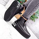 Ботинки женские Alberta черные ЗИМА 2636, фото 7