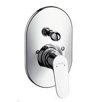 Focus Смеситель для ванны однорычажный, скрытый монтаж, хром