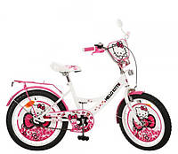 Велосипед Хеллоу Китти 20 дюймов Hello Kitty детский двухколесный