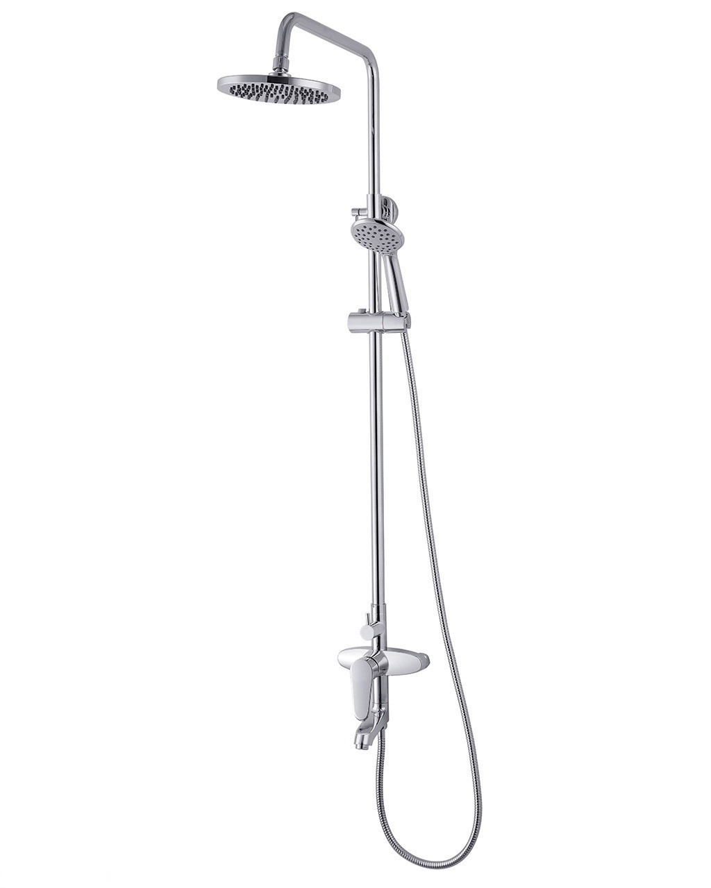 WITOW система душова (змішувач для ванни, верхній та ручний душ)