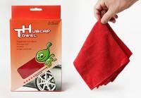 Ткань для чистки дисков автомобиля HUBCAR (микрофибра)