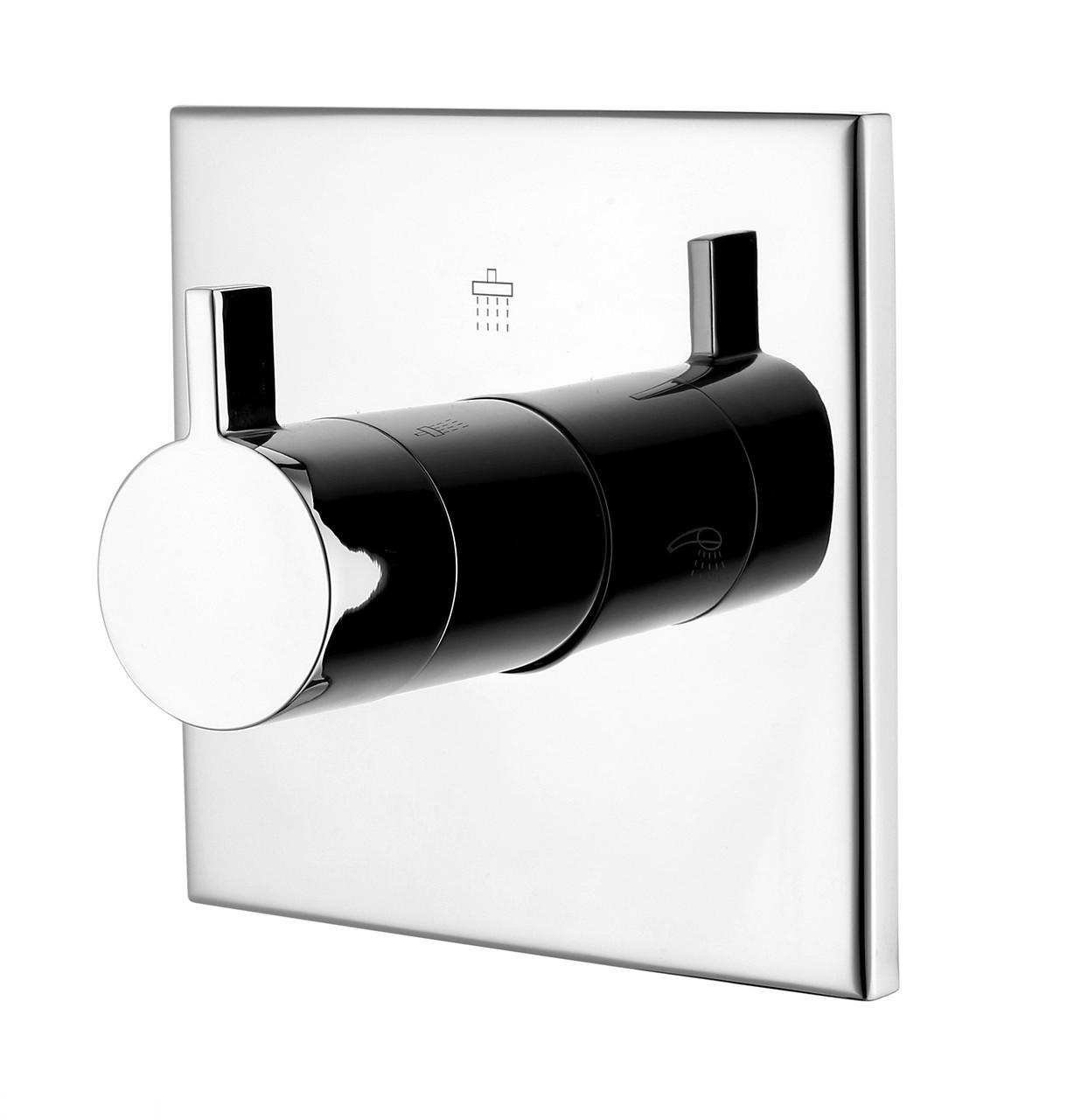 ZAMEK запорный/переключающий вентиль (3 потребителя), форма S