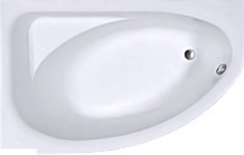 SPRING ванна асиметрична 160*100 см, ліва, біла, з ніжками SN7