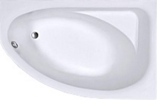 SPRING ванна асимметричная 170*100 см, правая, белая, с ножками SN7