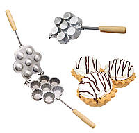 Форма для выпечки корзинок и тарталеток (7 корзинок)