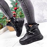 Ботинки женские Top черные ЗИМА 2631, фото 2