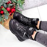 Ботинки женские Top черные ЗИМА 2631, фото 4
