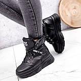 Ботинки женские Top черные ЗИМА 2631, фото 5