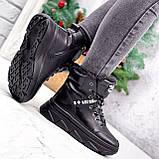 Ботинки женские Top черные ЗИМА 2631, фото 9