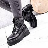 Ботинки женские Top черные ЗИМА 2631, фото 8