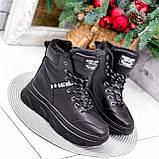 Ботинки женские Top черные ЗИМА 2631, фото 10