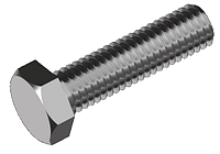 Болты с шестигранной головкой, сталь кл. пр. 5.8, ЦБ DIN 933