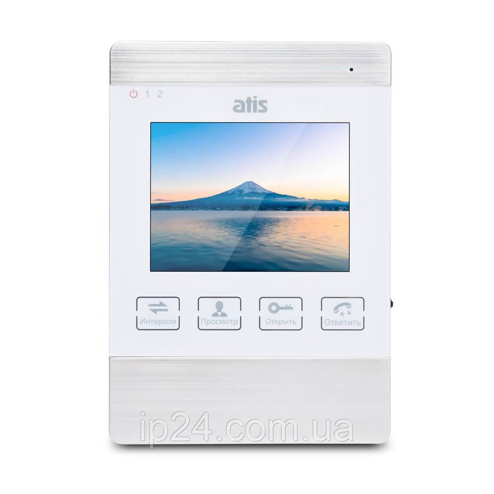 ATIS AD-470M S-White бюджетный домофон