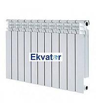 Біметалічний радіатор EKVATOR 76*500