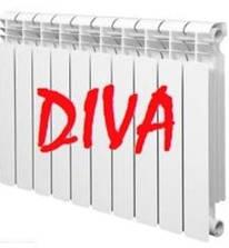 Биметаллический радиатор Diva 96*500