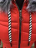 Жіноча зимова куртка модель Мілана, розміри від 40 до 56, фото 5