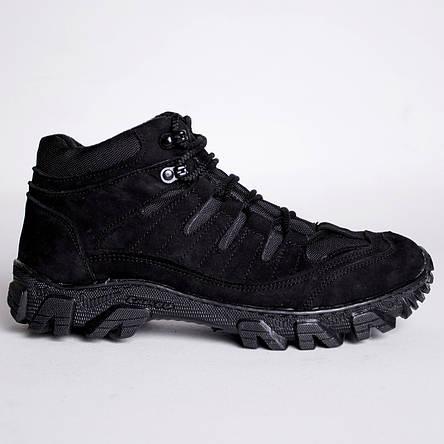 Ботинки Тактические, Зимние Альфа Черные, фото 2