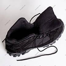 Ботинки Тактические, Зимние Альфа Черные, фото 3