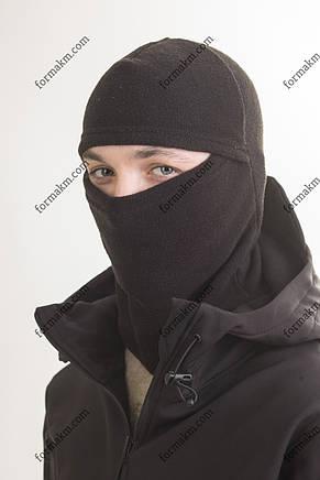 Балаклава Флисовая Черная, фото 2