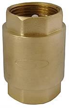 """Клапан обратного хода воды  Solomon 6021 с пластиковым штоком 1/2"""""""