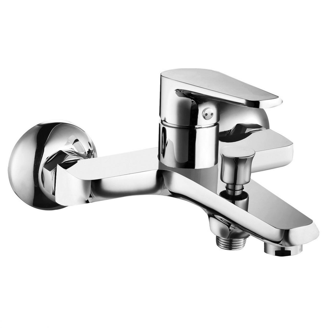 BARKA cмеситель для ванны, хром, 35 мм