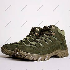 Ботинки Тактические, Зимние Альфа Олива, фото 3