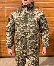 Куртка, Бушлат Камуфляжный Зимний ЗСУ пиксель