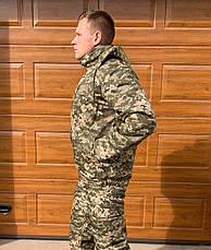 Камуфляжный костюм зимний ЗСУ пиксель, фото 2