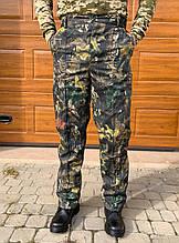 Камуфляжные утеплённые брюки Дубок