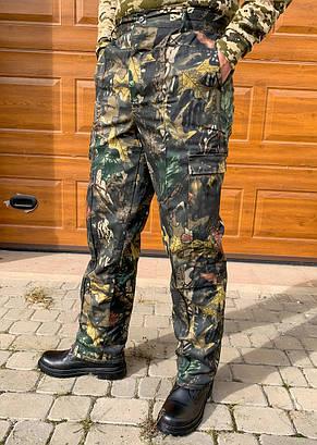 Камуфляжные утеплённые брюки Дубок, фото 2