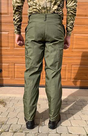 Камуфляжні штани утеплені Гірка олива, фото 2